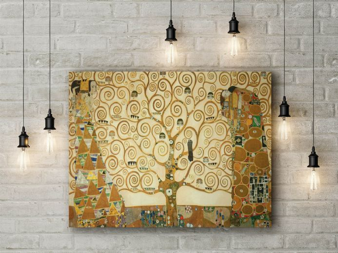 Gustav Klimt: The Tree of Life. Fine Art Canvas.